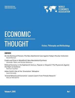 Economic Thought, Vol 4, No 1, 2015