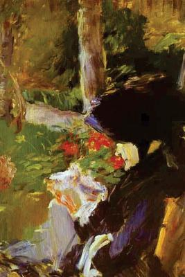 Mother in the Garden at Bellevue by Edouard Manet - 1880 Journal