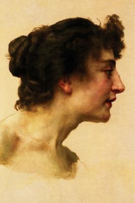 Study of the Head of Elize by William-adolphe Bouguereau 1896 Journal