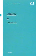Irigaray for architects