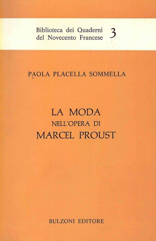 La moda nell'opera di Marcel Proust