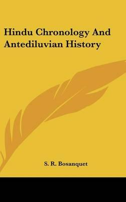Hindu Chronology And Antediluvian History