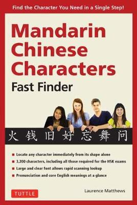 Mandarin Chinese Characters Fast Finder