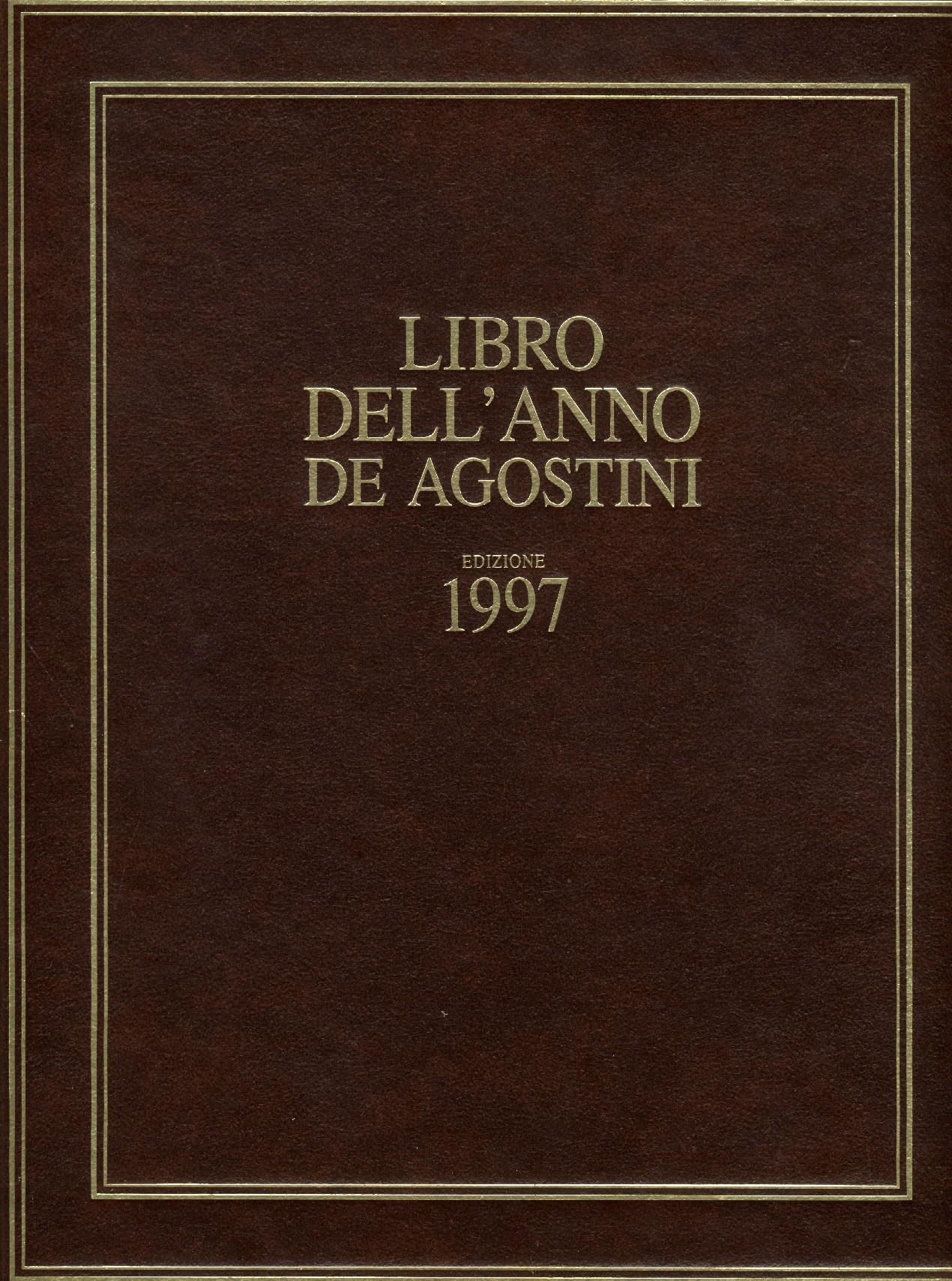 Libro dell'anno De Agostini Edizione 1997