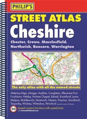Philip's Street Atlas Cheshire