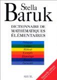 Dictionnaire de mathématiques élémentaires.
