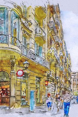 Barcelona Streets Notebook