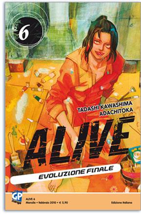 Alive - Evoluzione finale n. 6