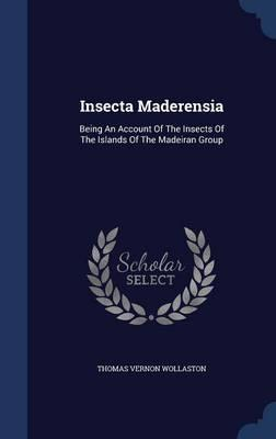 Insecta Maderensia