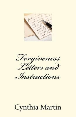 Forgivness Letters and Instructions