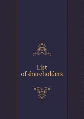 List of Shareholders