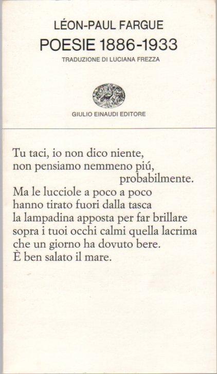Poesie (1886-1933)