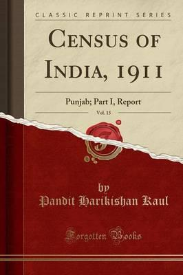 Census of India, 1911, Vol. 15