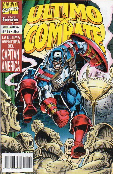 Capitán América: Último combate #4 (de 6)