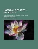 Hawaiian Reports