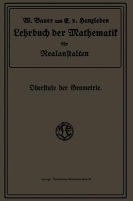 Lehrbuch Der Mathematik Für Realanstalten