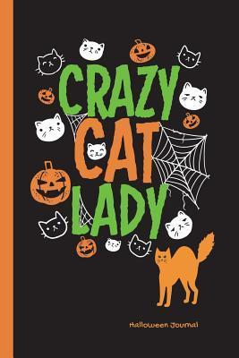 Crazy Cat Lady Halloween Journal