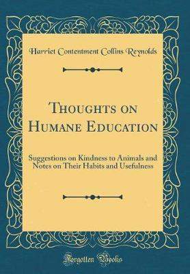 Thoughts on Humane Education