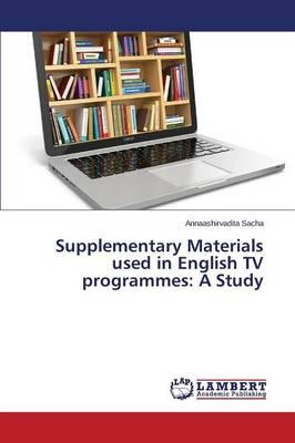 Supplementary Materials used in English TV programmes