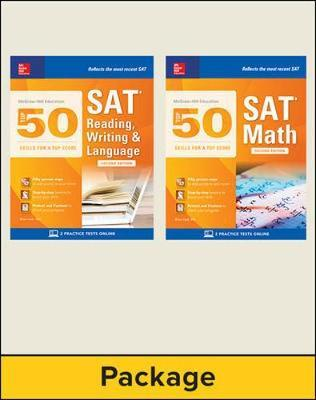 McGraw-Hill Education Top 50 SAT Skills Savings Bundle, Second Edition
