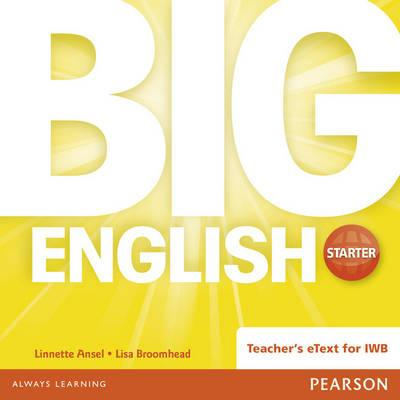Big English Starter Teacher's eText CD Rom