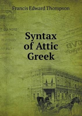Syntax of Attic Greek