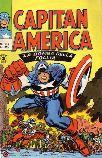 Capitan America n. 115