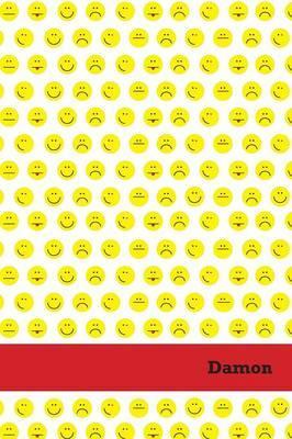 Etchbooks Damon, Emoji, Wide Rule