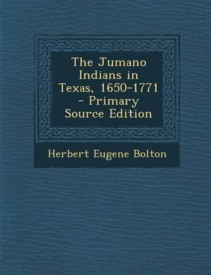 The Jumano Indians i...