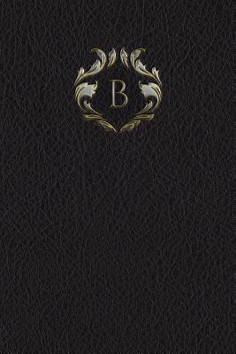 Monogram B Notebook