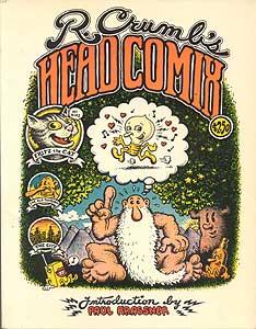 R. Crumb's head comix́