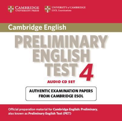 Cambridge Preliminary English Test 4 Audio CD Set (2 CDs)