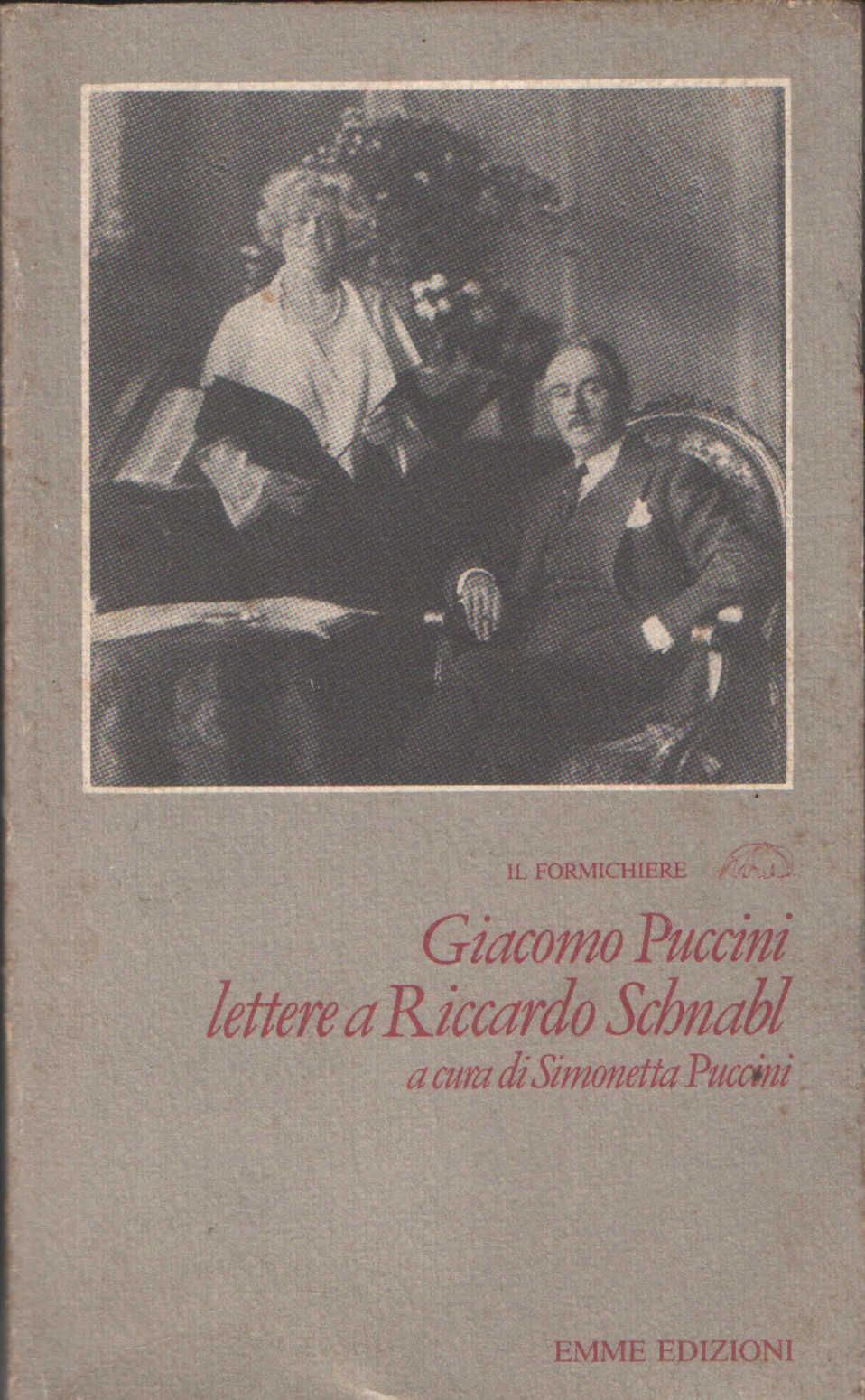 Lettere a Riccardo Schnabl