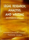 Legal Research, Analysis, and Writing:an Integrated Approach