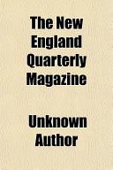 The New England Quarterly Magazine