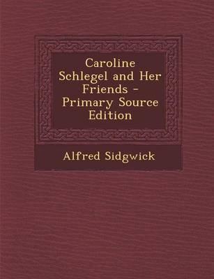 Caroline Schlegel an...