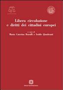 Libera circolazione e diritti dei cittadini europei