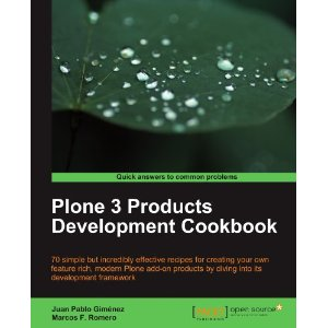 Plone 3.3 Products Development Cookbook