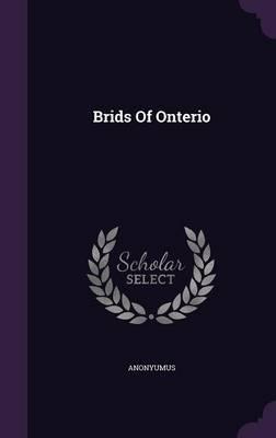 Brids of Onterio