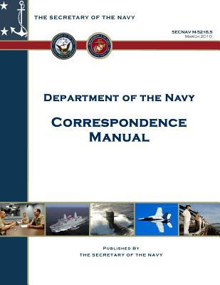 Department of the Navy Correspondence Manual