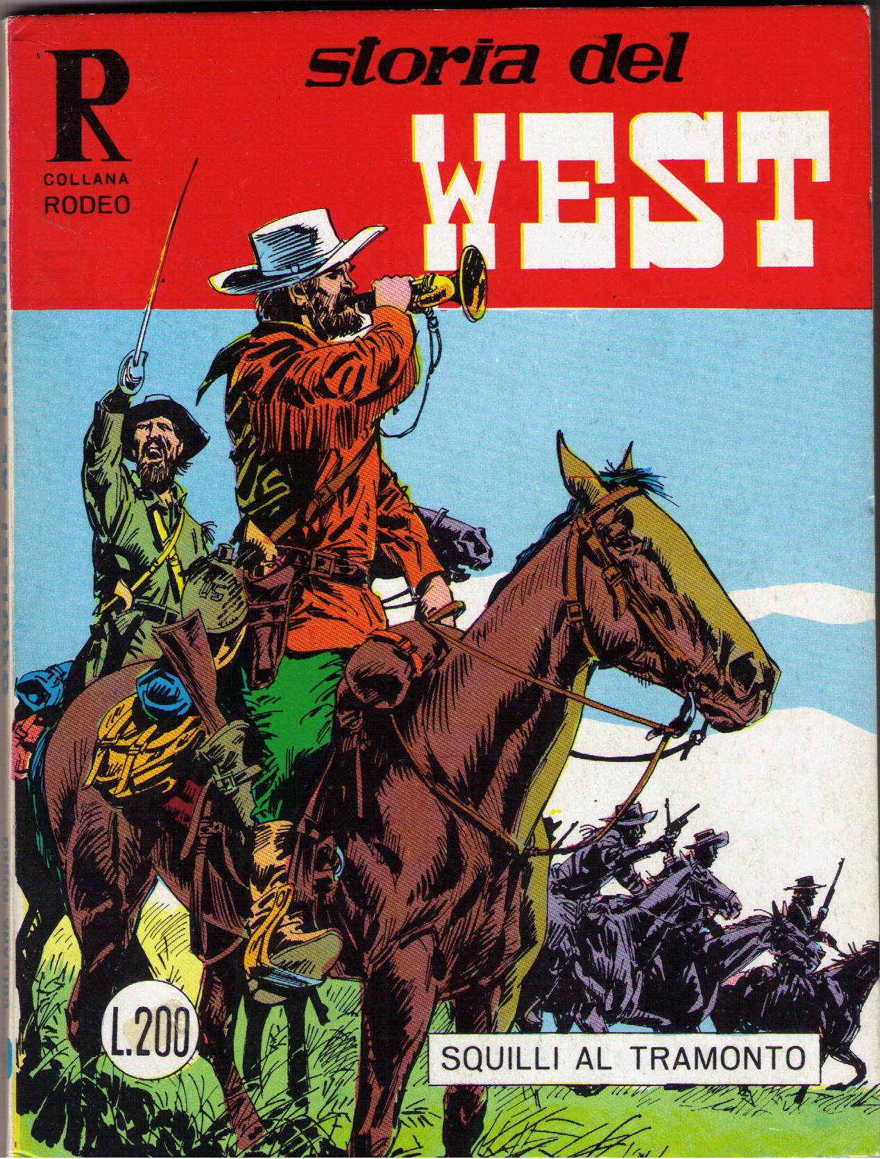 Storia del West n.23 (Collana Rodeo n.50)