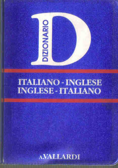 Italiano-inglese, inglese-italiano