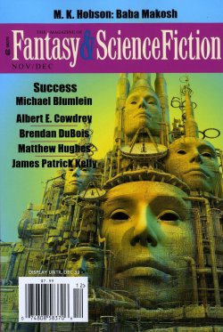 The Magazine of Fantasy and Science Fiction, November/December 2013