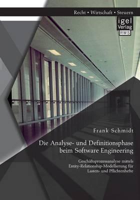 Die Analyse- und Definitionsphase beim Software Engineering