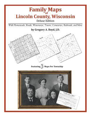 Family Maps of Lincoln County, Wisconsin