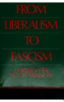 Italy from liberalism to fascism