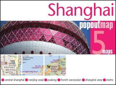 Popout Map Shanghai