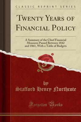 Twenty Years of Financial Policy
