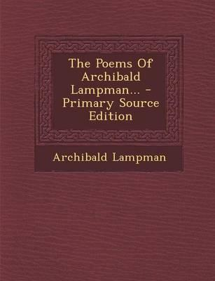 The Poems of Archiba...