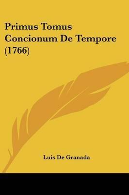 Primus Tomus Concion...